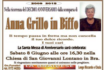 Anna Grillo in Biffo
