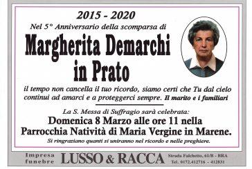 Margherita Demarchi in Prato