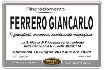 Giancarlo Ferrero