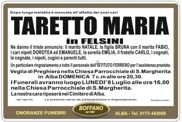 Maria Taretto in Felsini