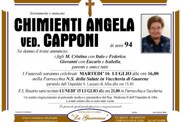 Angela Chimenti ved. Capponi