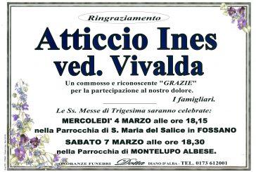 Ines Atticcio ved. Vivalda