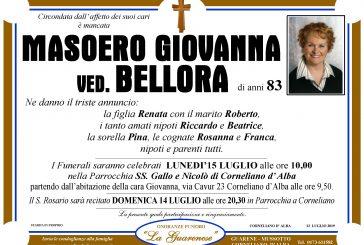 Giovanna Masoero ved. Bellora