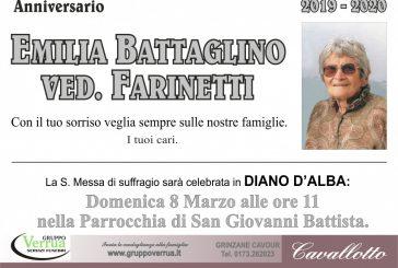Emilia Battaglino ved. Farinetti