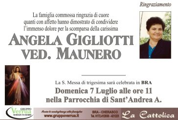 Angela Gigliotti ved. Maunero