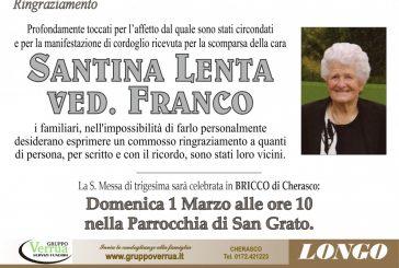 Santina Lenta ved. Franco