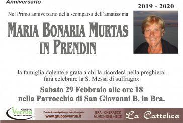 Maria Bonaria Murtas in Prendin