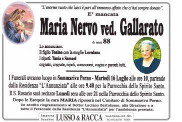 Maria Nervo ved. Gallarato