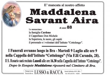 Maddalena Savant Aira
