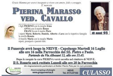 Pierina Marasso ved. Cavallo