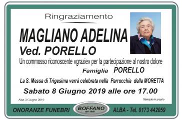 Adelina Magliano ved. Porello