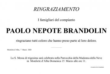 Paolo Nepote Brandolin