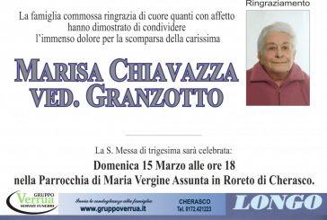Marisa Chiavazza ved. Granzotto