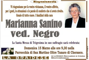 Marianna Sanino ved. Negro