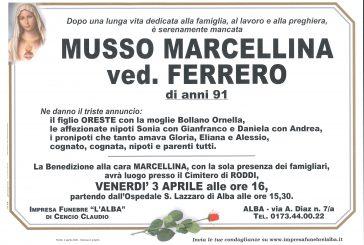 Marcellina Musso ved. Ferrero