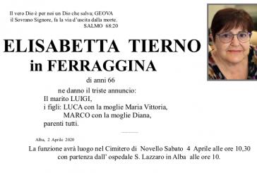 Elisabetta Tierno in Ferraggina