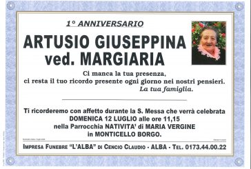 Giuseppina Artusio ved. Margiaria