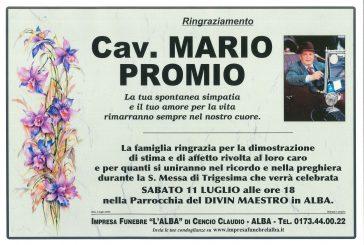 Cav. Mario Promio