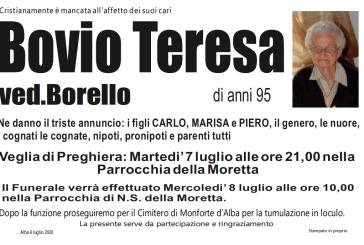 Teresa Bovio ved. Borello