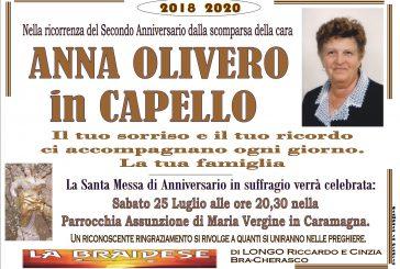 Anna Olivero in Capello