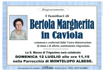 Margherita Bertola in Caviola