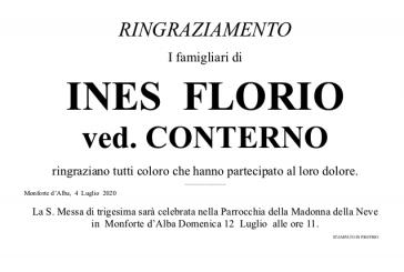 Ines Florio ved. Conterno