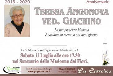 Teresa Angonova ved. Giachino