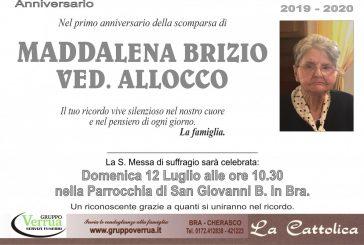 Maddalena Brizio ved.  Allocco
