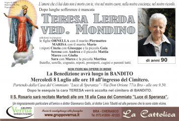 Teresa Lerda ved. Mondino