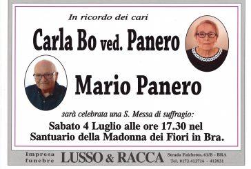 Carla Bo ved. Panero e Mario Panero