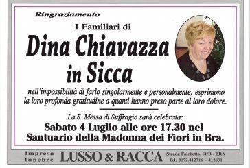 Dina Chiavazza in Sicca