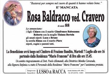 Rosa Baldracco ved. Cravero