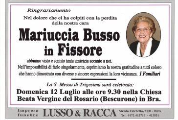Mariuccia Busso in Fissore