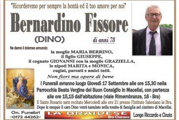 Bernardino (Dino) Fissore
