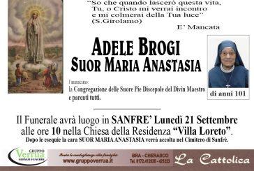 Adele Brogi (Suor Maria Anastasia)