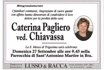Caterina Pagliero ved. Chiavassa