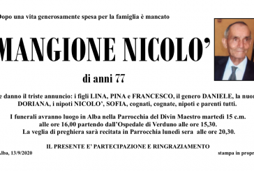 Nicolò Mangione