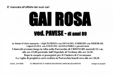 Rosa Gai ved. Pavese