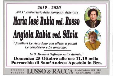 Maria Josè Rubia ved. Rosso e Angiola Rubia ved. Silvia