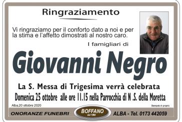 Giovanni Negro