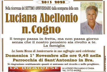 Luciana Abellonio n. Cogno