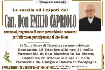 Can. Don Emilio Capriolo
