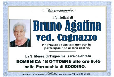 Agatina Bruno ved. Cagnazzo