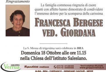 Francesca Bergese ved. Giordana