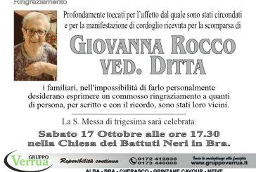 Giovanna Rocco ved. Ditta