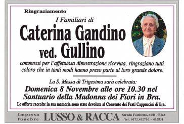 Caterina Gandino ved. Gullino