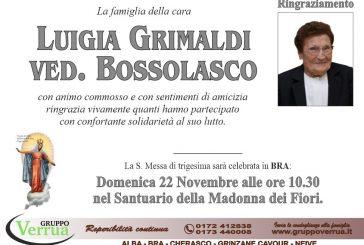 Luigia Grimaldi ved. Bossolasco
