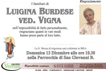 Luigina Burdese ved. Vigna
