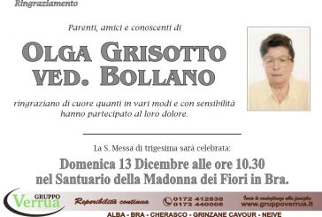 Olga Grisotto ved. Bollano