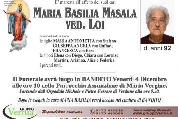 Maria Basilia Masala ved. Loi